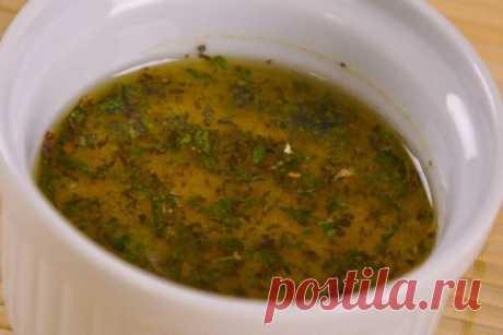 Заправка для винегрета с чесноком и смесью перцев, рецепт с фото   Вкусные кулинарные рецепты