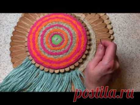 Плетение на круговом контуре - МАСТЕР-КЛАССЫ