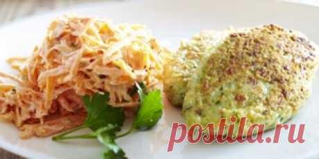 Котлеты из рыбы с морковным салатом : Рыбные блюда : Кулинария : Subscribe.Ru