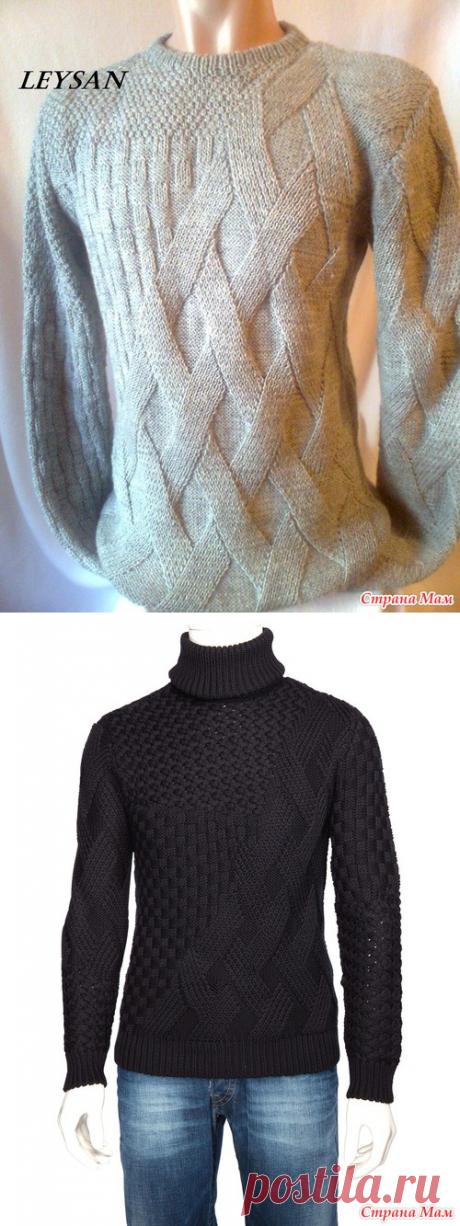 Мужской пуловер HUGO BOSS в моем варианте - Страна Мам