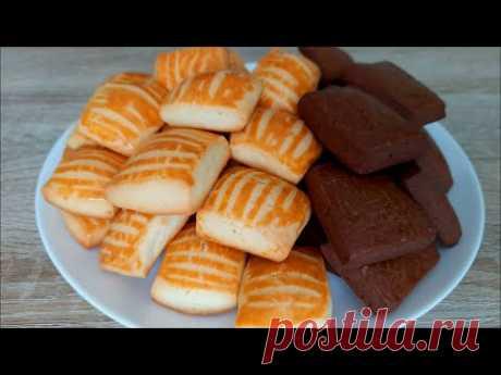 Быстро к чаю! Простой рецепт домашнего печенья! /Cookie recipe!