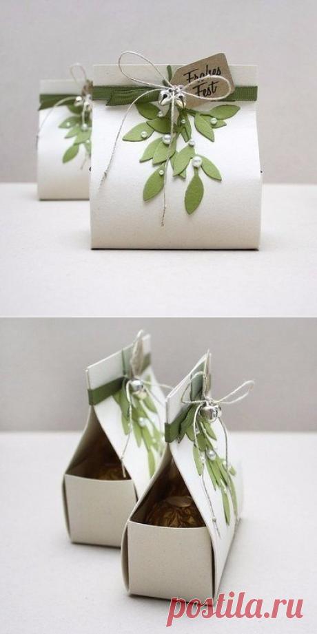 Подарочная упаковка-пакет.