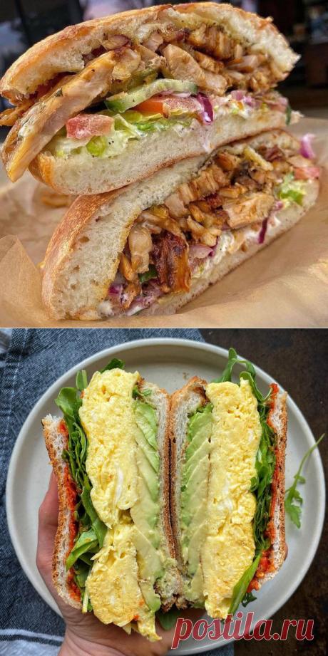 Пальчики оближешь: 5 рецептов вкусных сэндвичей — www.ellegirl.ru