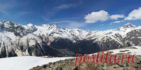 Виртуальный тур по горнолыжному курорту Домбай