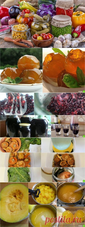 Лучшие рецепты осенних заготовок - чтобы зимой было вкусно!