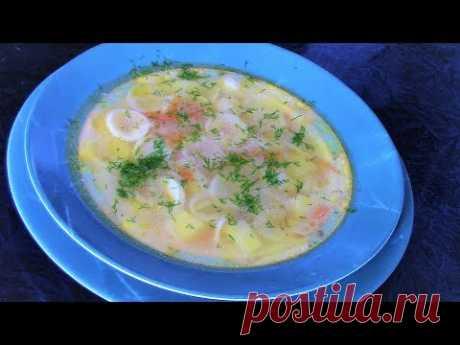 Как сварить суп из бройлерной курицы с макаронами - ароматный, наваристый и очень вкусный.