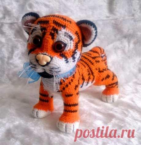 Игрушка тигр   metelica-online.ru