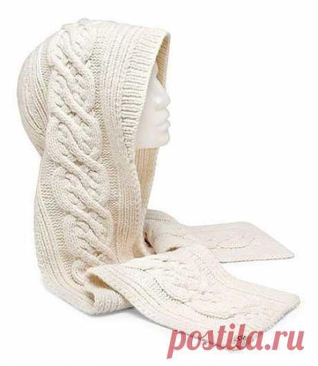 Вязаные шапки - шарфы