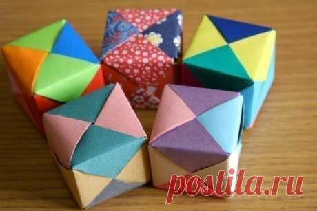 Кубики своими руками