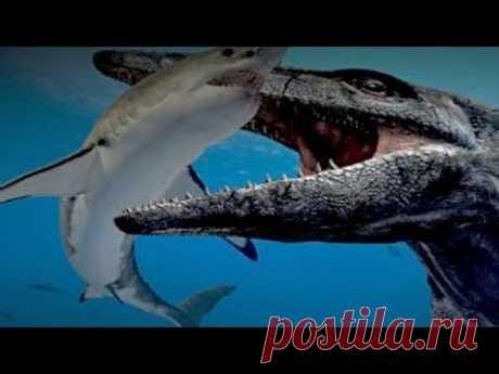 Мозазавры - морские монстры