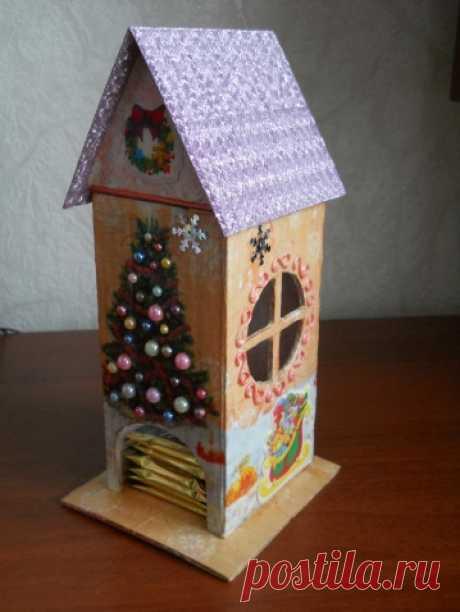 Новогодний чайный домик / Новый год / новогодние подарки,поделки и костюмы