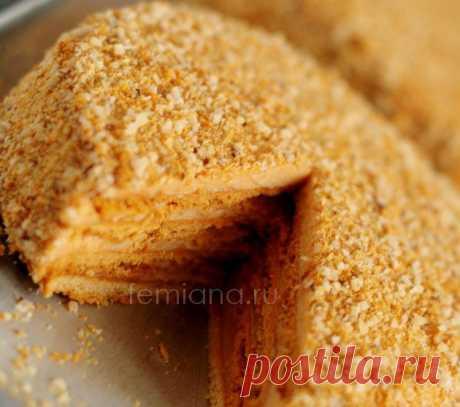 Рецепт вкусного торта Медовик на сковороде на плите (на скорую руку)