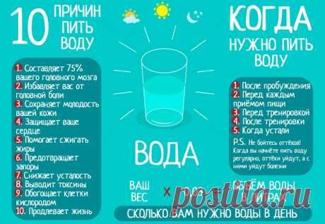 Сколько воды пить в день
