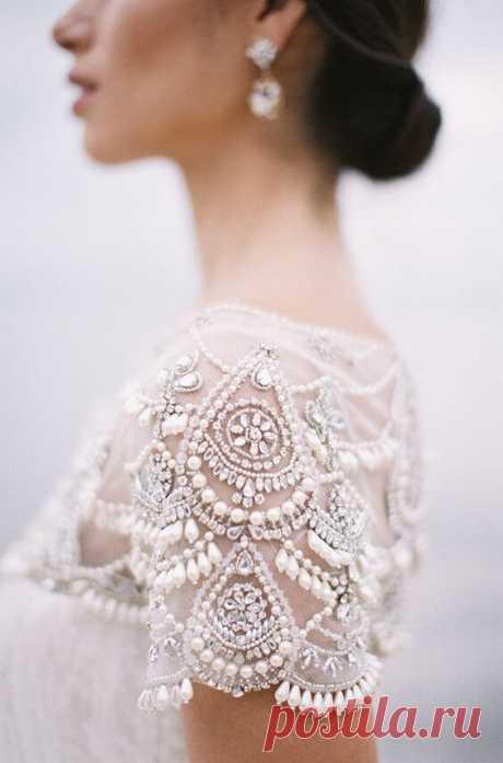 Свадебные идеи вышивки бисером ~ Свое рукоделие