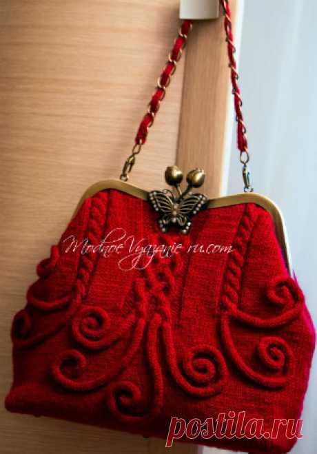 сумки,аксессуары - Модное вязание