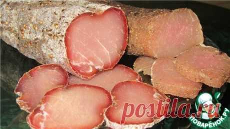 Вяленое мясо по семейному рецепту – кулинарный рецепт