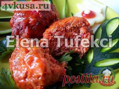 «Свекольно-мясные котлетки» | 4vkusa.ru