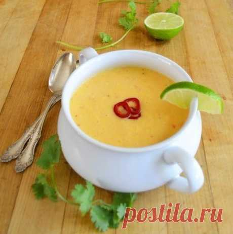 Суп пюре из свежей кукурузы