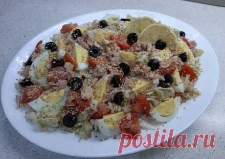 (14) Салат с тунцом, яйцом и маслинами - пошаговый рецепт с фото. Автор рецепта Елена🌳 . - Cookpad