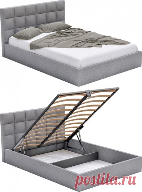 Купить кровать с подъёмным механизмом Доминика в Минске | Кровати с независимым пружинным блоком Доминика
