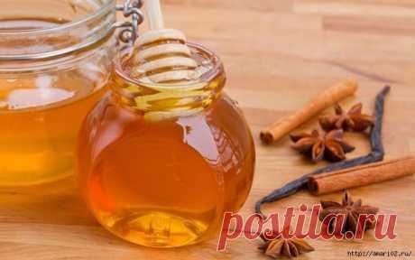 Мёд+корица - творит чудеса.