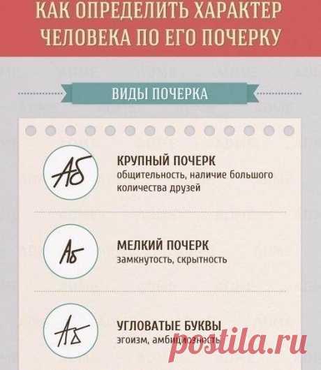 Что говорит о человеке его почерк — Полезные советы