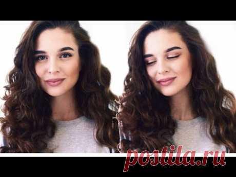 (119) КУДРИ БЕЗ ПЛОЙКИ И БИГУДИ   Heatless Curls - YouTube