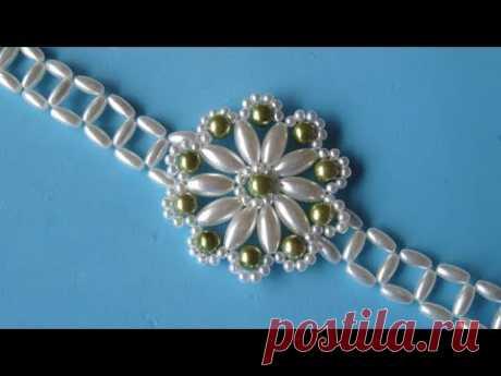 DIY - Pulsera roseton DIY - Rosette bracelet