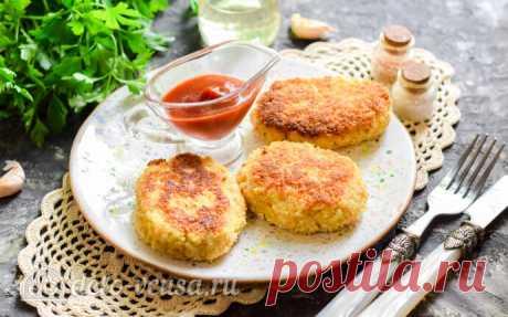 Котлеты из кабачков и риса пошаговый рецепт с фото