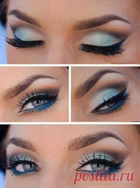 Красивый макияж.
