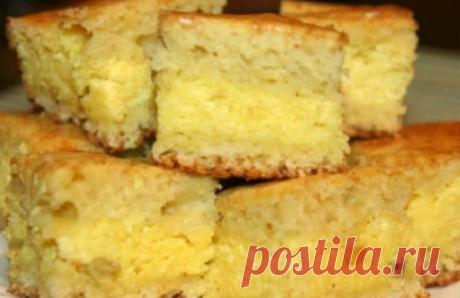 Вкусный рецепт. Изумительный пирог с творожной начинкой: гости хвалили и просили рецептик! | КуЛИНАРИЯ | Яндекс Дзен