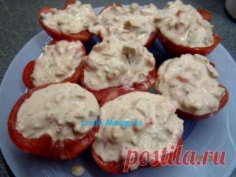 Тресканутый помидор. Простейшая закуска молниеносного приготовления. | 4vkusa.ru