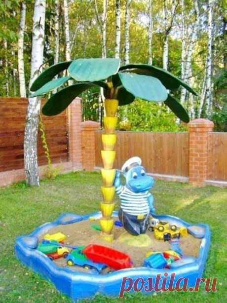 Детский уголок на даче: чудесные идеи — Сделай сам, идеи для творчества - DIY Ideas