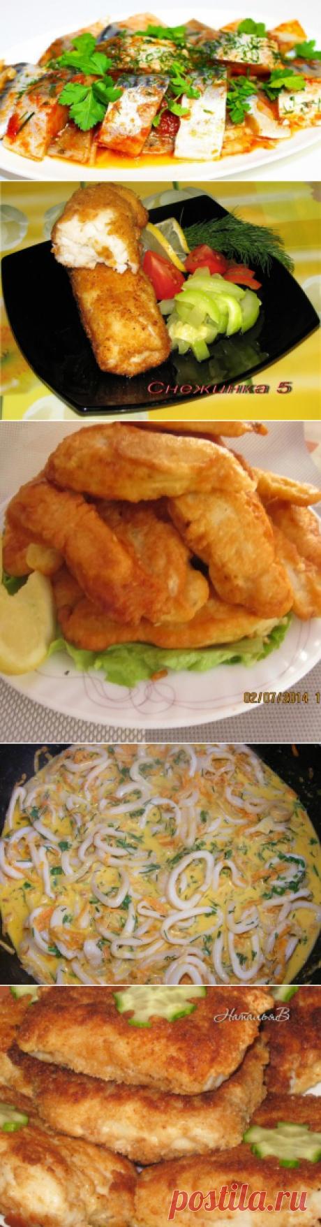 КУХНЯ: РЫБА, МОРЕПРОДУКТЫ | Алла Белая | Рецепты простой и вкусной еды на Постиле