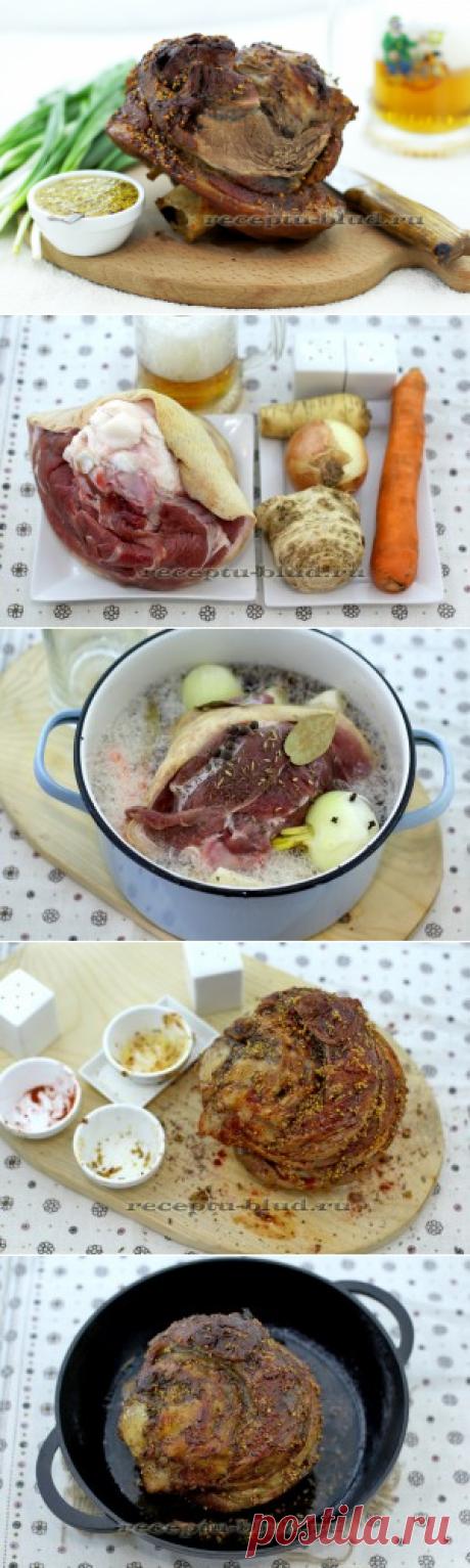 Como preparar el morcillo por bavarski – la receta de la foto