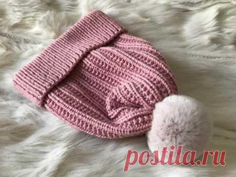 Описание вязаной шапочки из категории Интересные идеи – Вязаные идеи, идеи для вязания