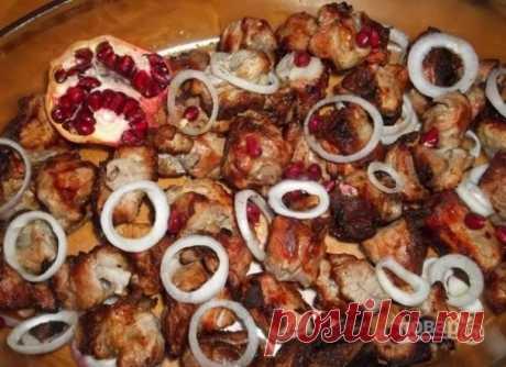 Мясо с гранатом - пошаговый рецепт с фото на Повар.ру
