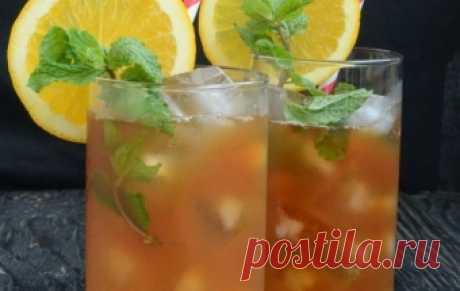 Мятный холодный чай / Черный чай / TVCook: пошаговые рецепты с фото