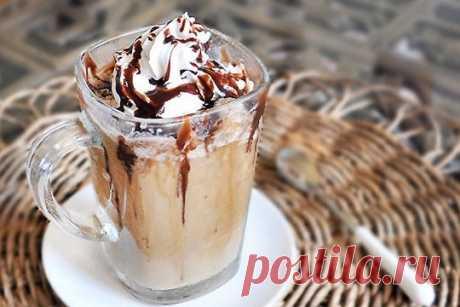Холодный кофейный напиток фраппучино (Frappuccino) рецепт – европейская кухня: напитки. «Еда»