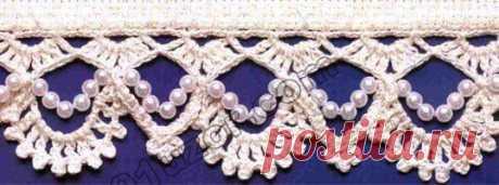 Вязание: узоры обвязки.