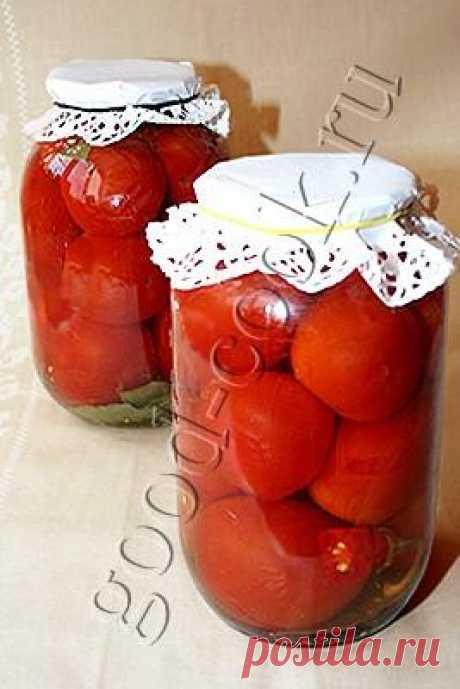 маринованные помидоры, рецепт приготовления