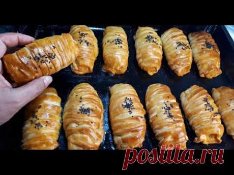 Необыкновенные ПИРОЖКИ С КАРТОШКОЙ из необычного теста в Которые можно влюбиться |Pies with potatoes