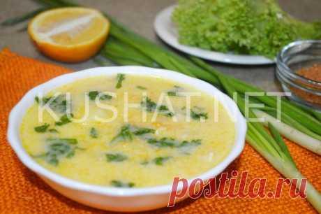 Сырный суп с курицей. Пошаговый рецепт с фото - Кушать нет