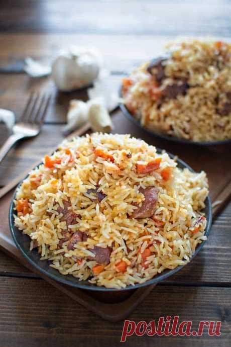 👌 Как приготовить настоящий узбекский плов, рецепты с фото Вкусный рецепт Как приготовить настоящий узбекский плов, пошаговый, с фото и отзывами 👍 Праздничные блюда, Блюда из риса, Блюда из баранины, Узбекская кухня, Пряности, Приправы, Блюда из моркови