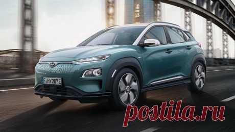 Электрический кроссовер Hyundai Kona Electric 2018 - цена, фото, технические характеристики, авто новинки 2018-2019 года