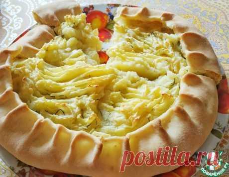 Пшеничная галета с картофелем – кулинарный рецепт
