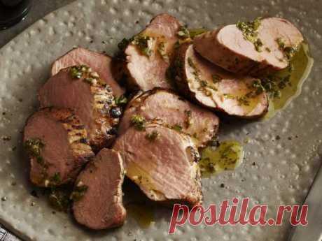 Ароматная свиная вырезка в лимонном соусе — Sloosh – кулинарные рецепты