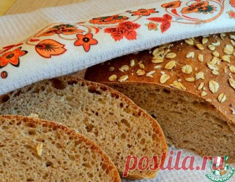 Хлеб с овсяными хлопьями – кулинарный рецепт