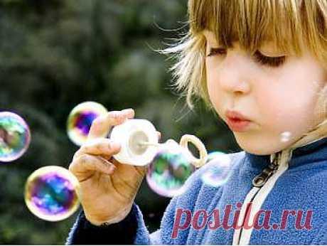 Как в домашних условиях сделать мыльные пузыри?
