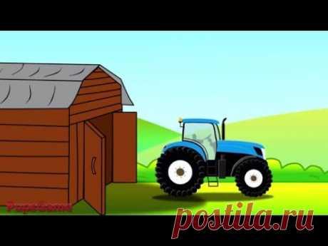 Мультик про Трактор и Автомойку - Мультики для детей